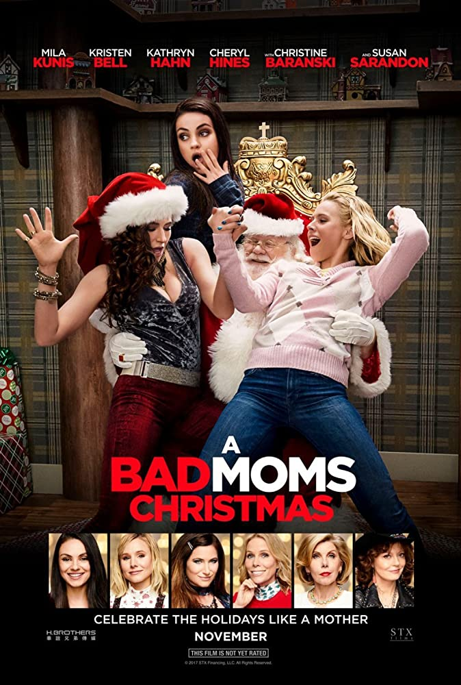 a bad moms Christmas movie promo pic