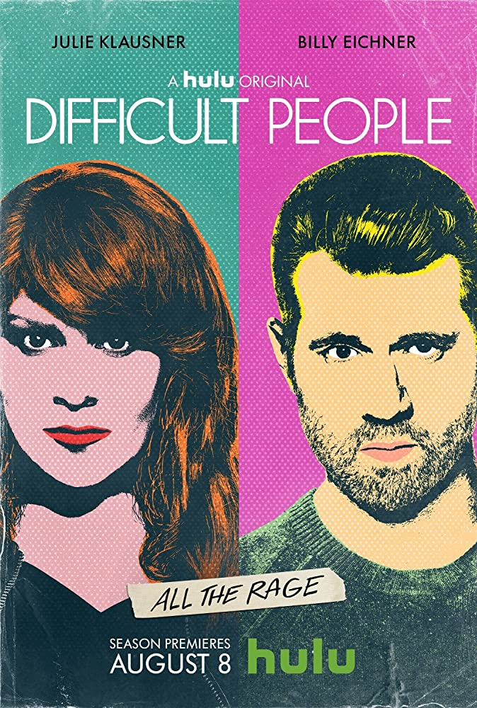 Hulu's Difficult People promo photo