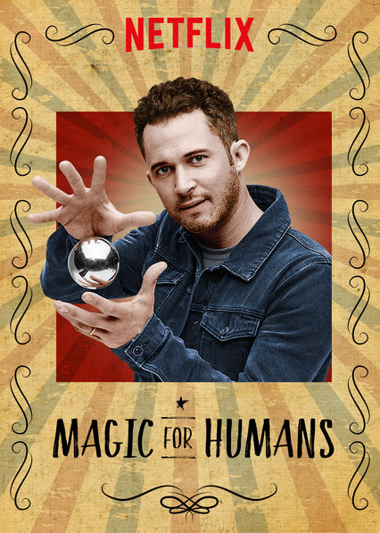 Magic for Humans Netflix show promo pic