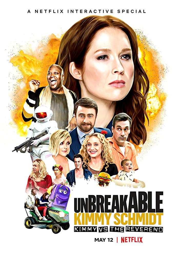 Unbreakable Kimmy Schmidt promo pic netflix