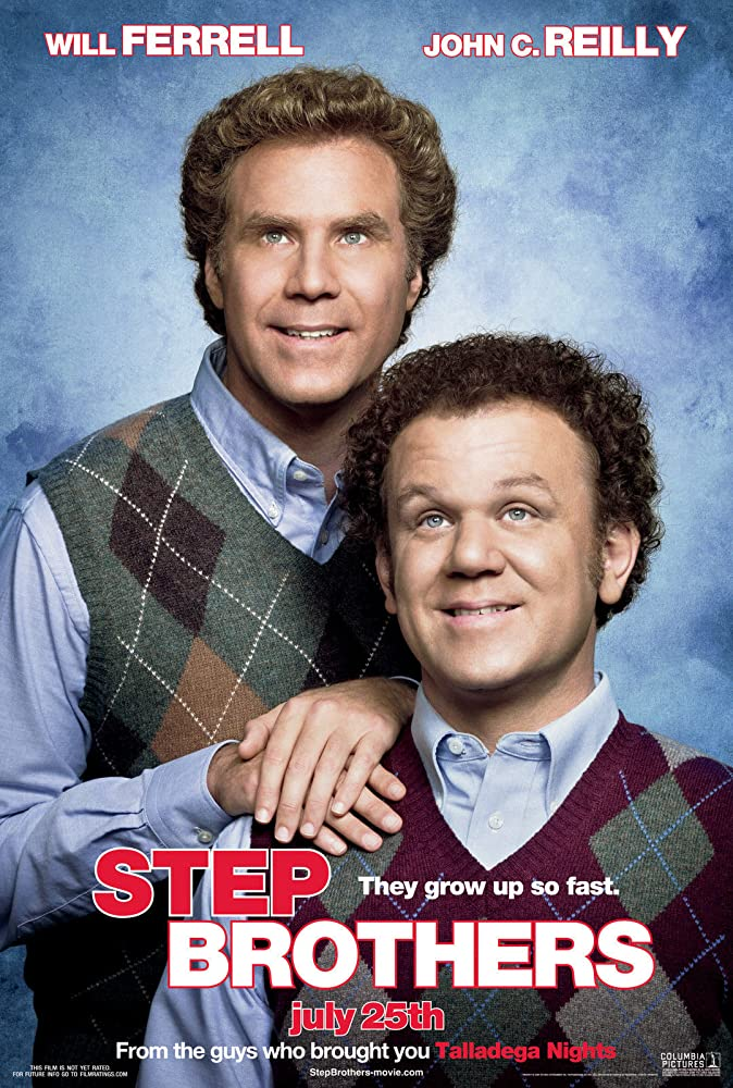 Step Brother movie promo pic