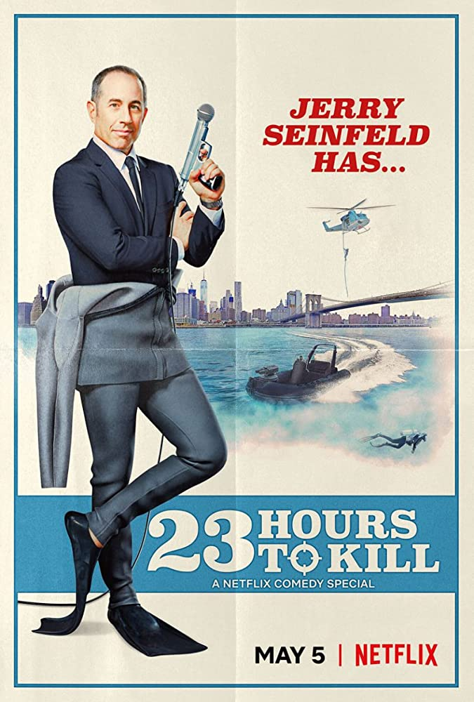 Jerry Seinfeld 23 Hours to Kill Netflix Promo Pic