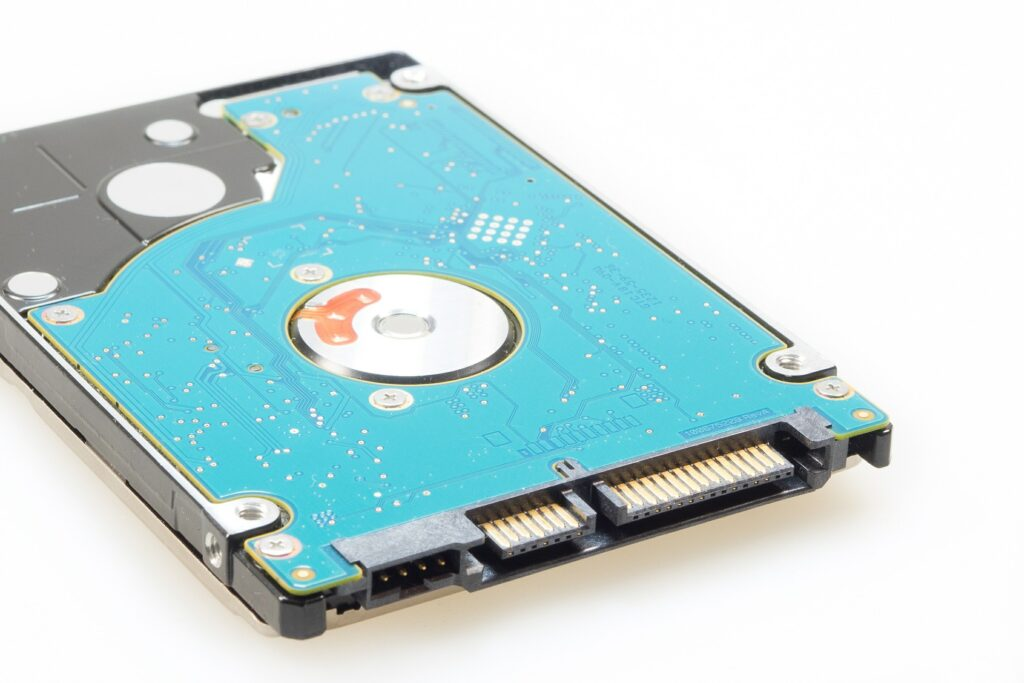picture of computer hard drive