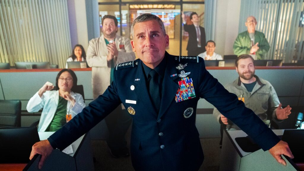 Steve Carell on Netflix's Space Force