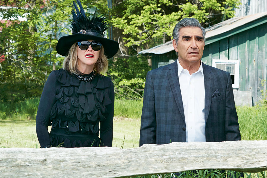 Johnny and Moira Schitt's Creek