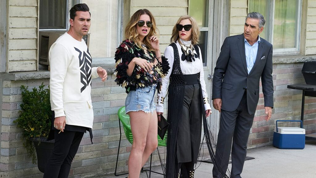 The Rose family Schitt's Creek