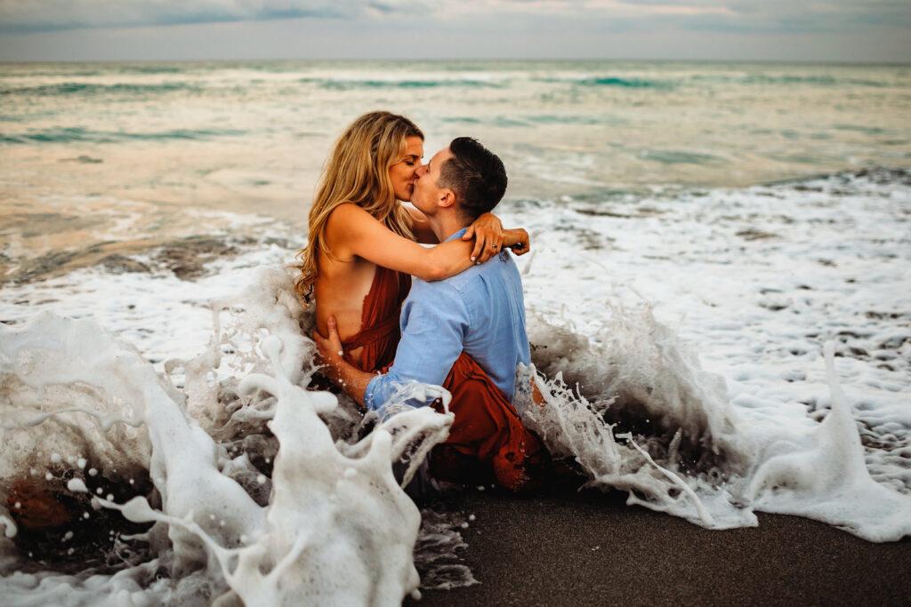 Jupiter Beach Engagement Photographer