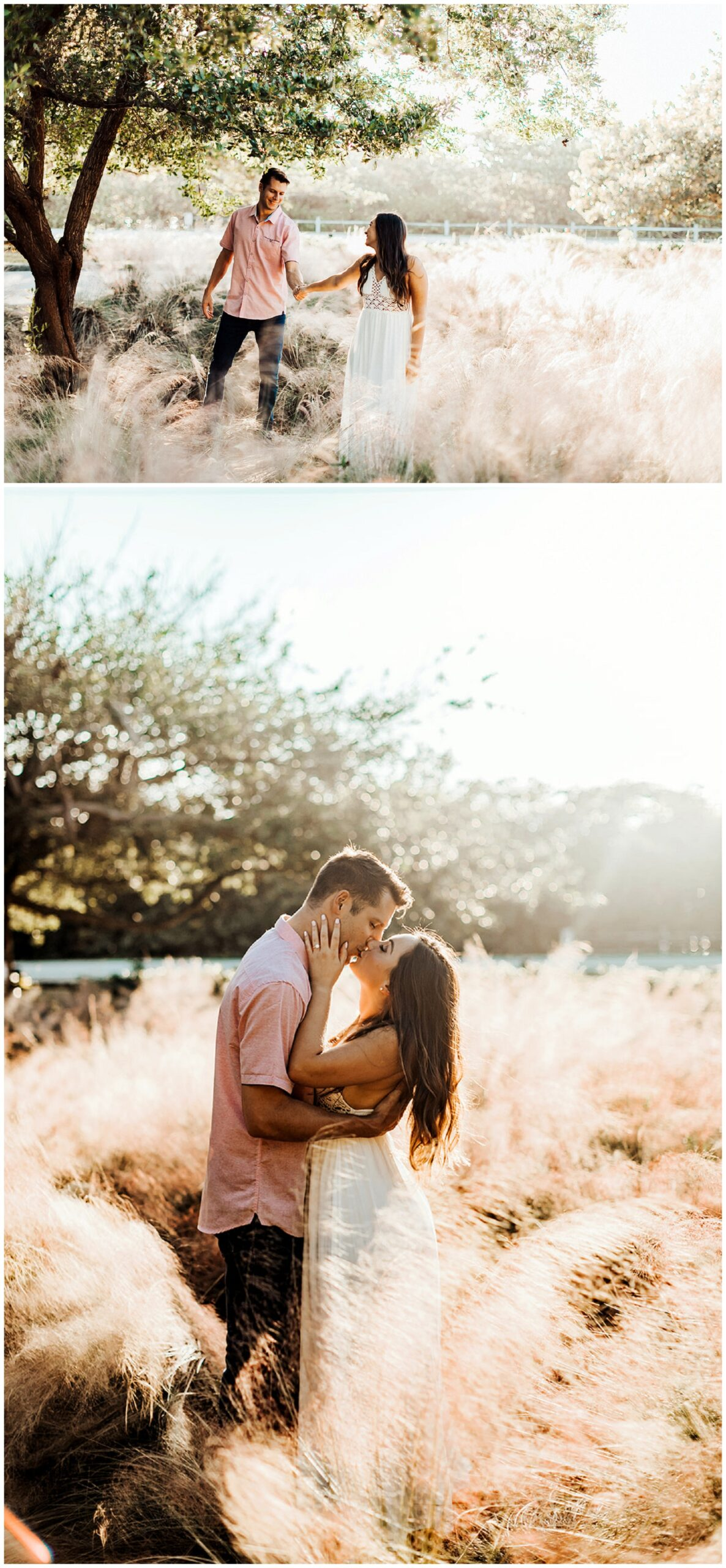 couple portraits for engagement
