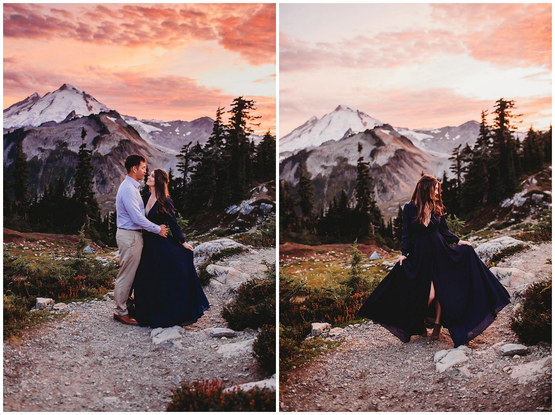 couple portraits for engagement pictures