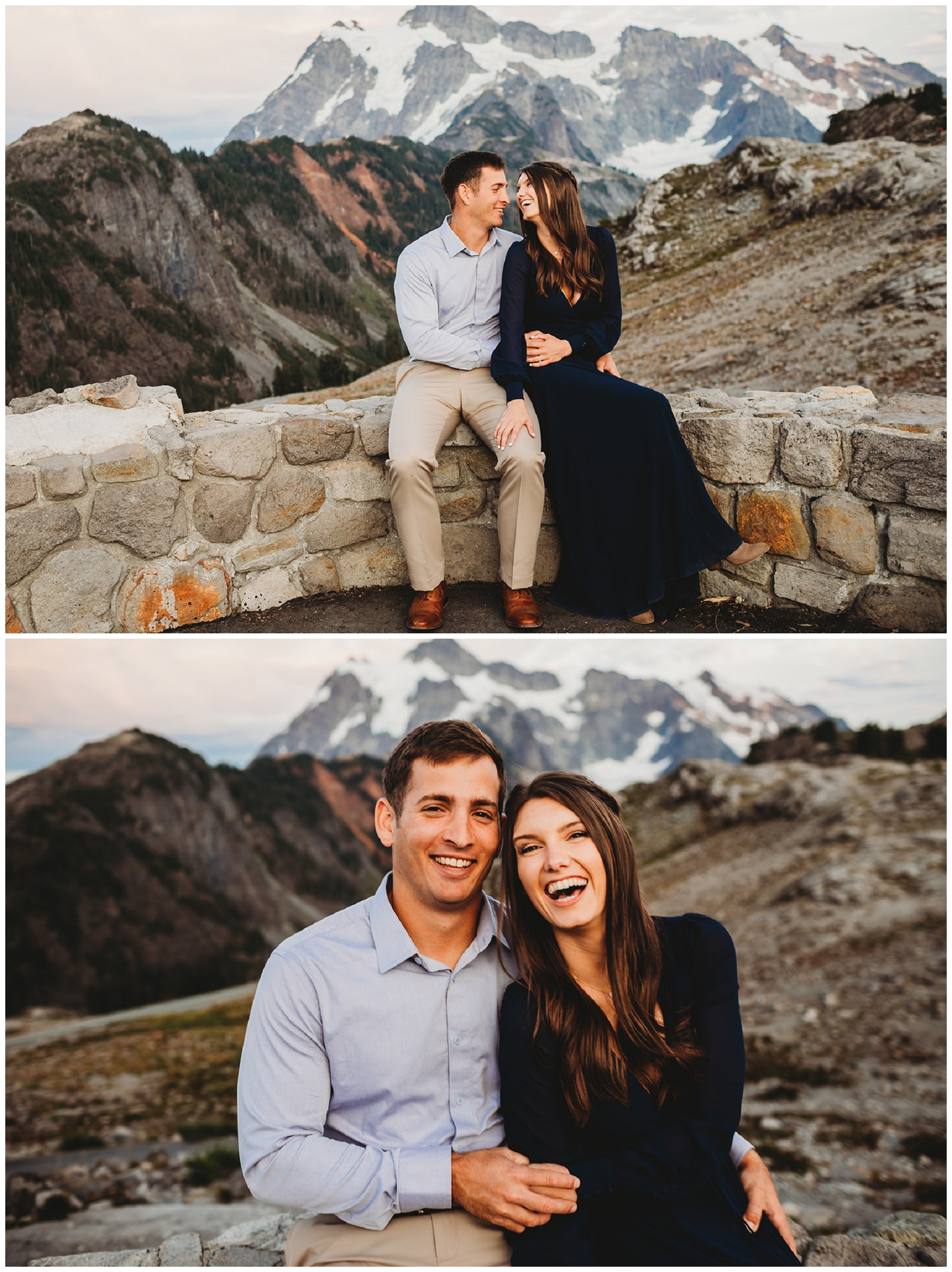 couple portraits for engagement pictures