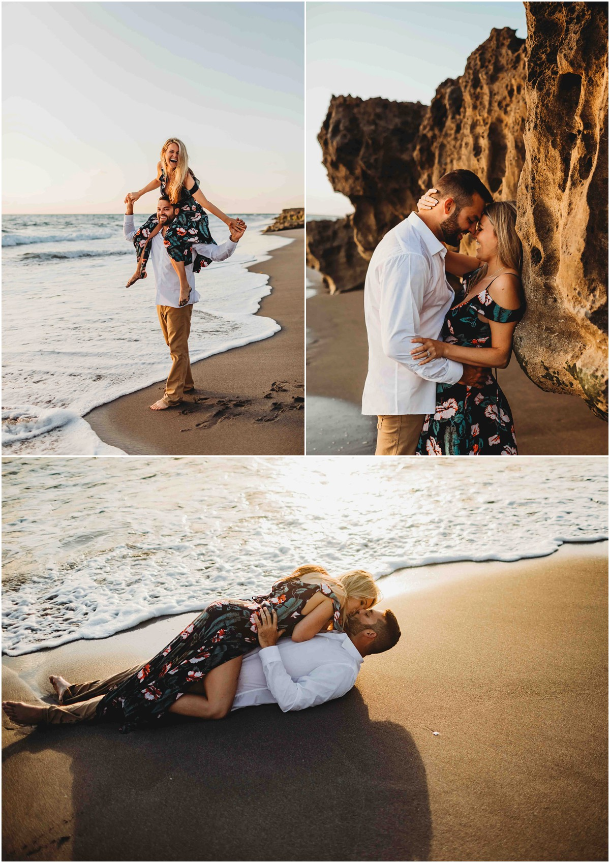 South Florida Beach Engagement
