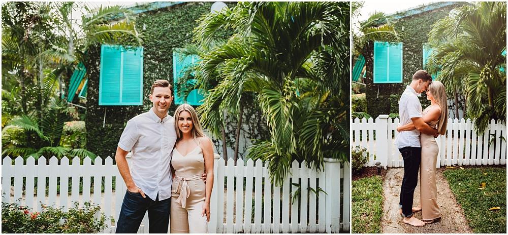 couple portraits on island