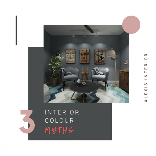 3 Interior Colour Myths