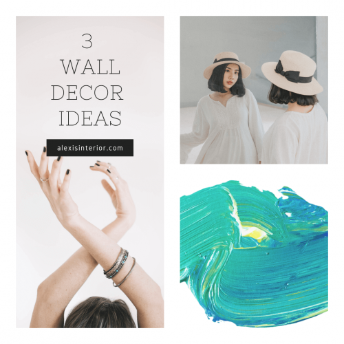 3 Wall Decors Ideas