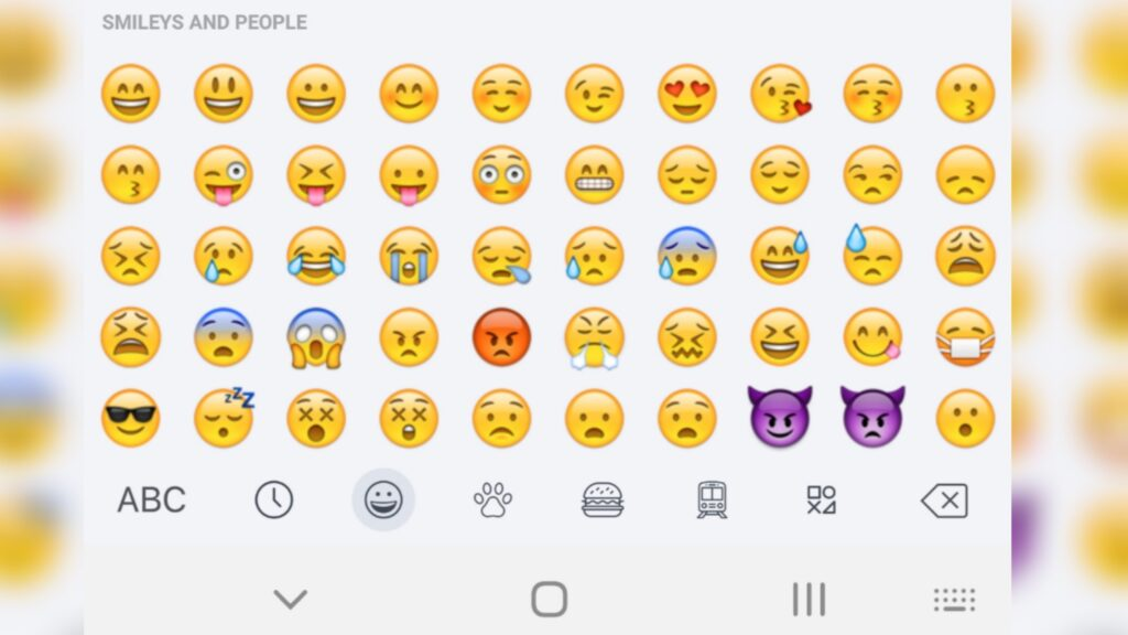 Emojis de Teclado de Iphone Para Android