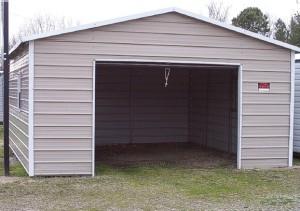 Boxed Eave Garage