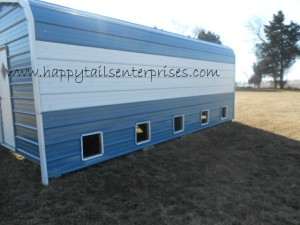 Kennel front