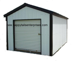 Mini Storage Vertical Roof