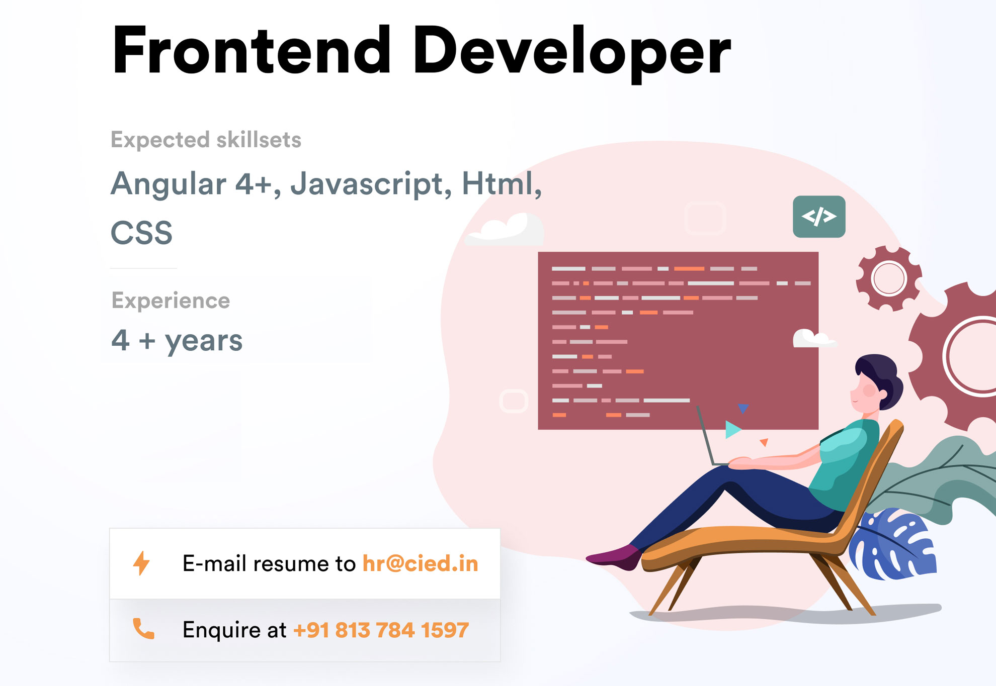 Hiring: Frontend Developer