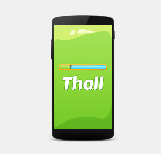 Thall : Two Player Tap Tap Game