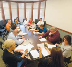 The new Commercial, Industrial, Service Trade Group North chapter meets May 6 at Farmers National Bank in Cranberry Township.  The group will meet at 9:15 a.m. the first Wednesday of every month at the bank.