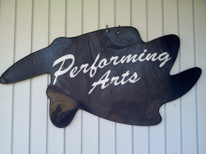 Performing Arts Hair Salon Sign