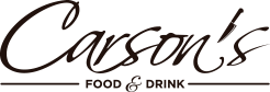 Carsons Food and Drink Logo