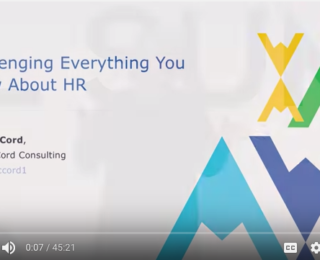 Goal Summit 2016: Challenging Everything You Know About HR
