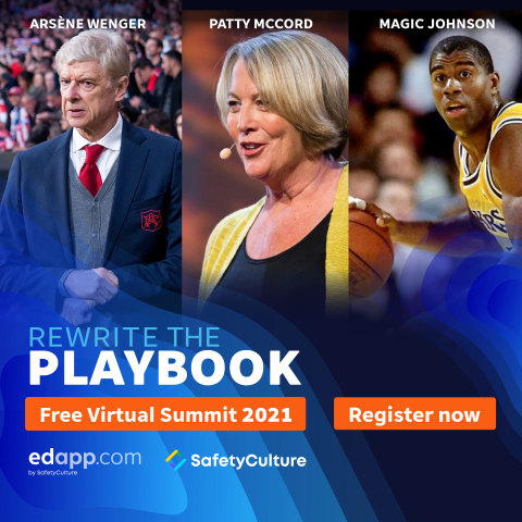 """EdApp to Host Free Virtual Summit """"Rewrite the Playbook,"""" April 29 with Magic Johnson, Netflix's Chief Talent Officer Patty McCord, and Iconic Soccer Manager Arsène Wenger"""