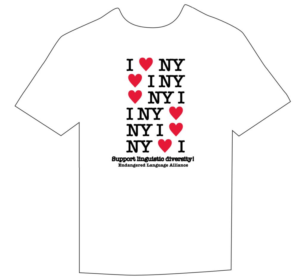 Linguistic Diversity T-shirt