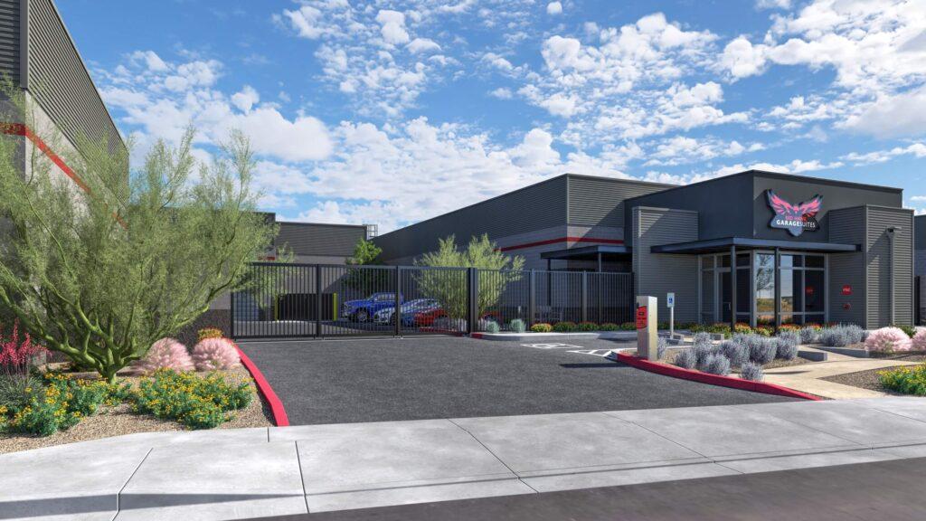 Redhawk garage suites rendering