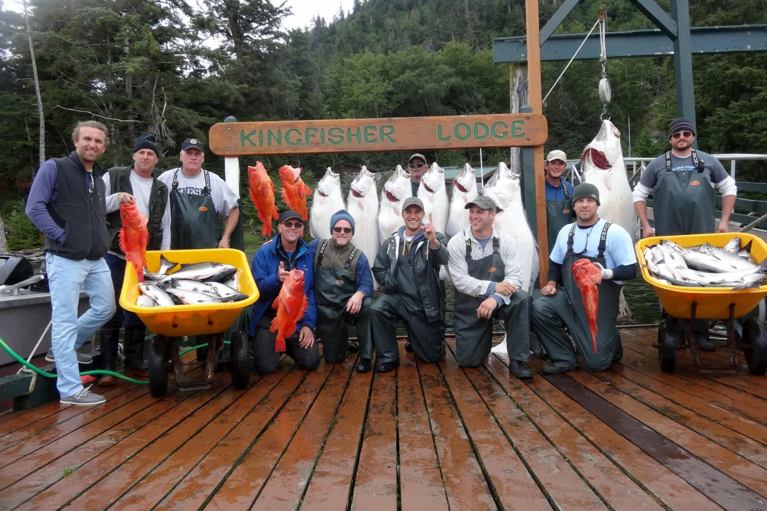 Craig halibut fishing