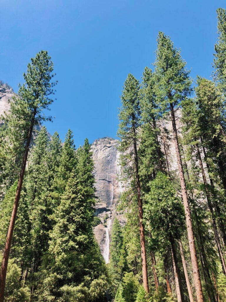 Weekend Getaway to Yosemite National Park at Yosemite Falls Hike