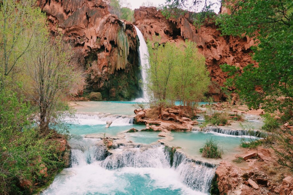 Couple's Havasupai Backpacking Guide to Havasu Falls