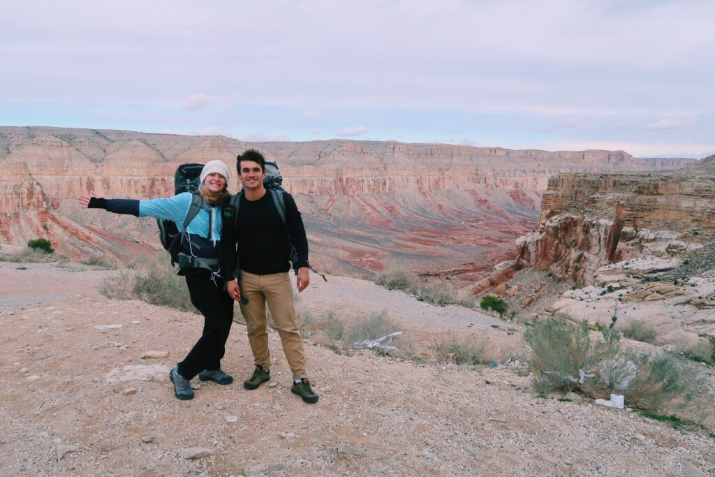Couple's Havasupai Backpacking Guide
