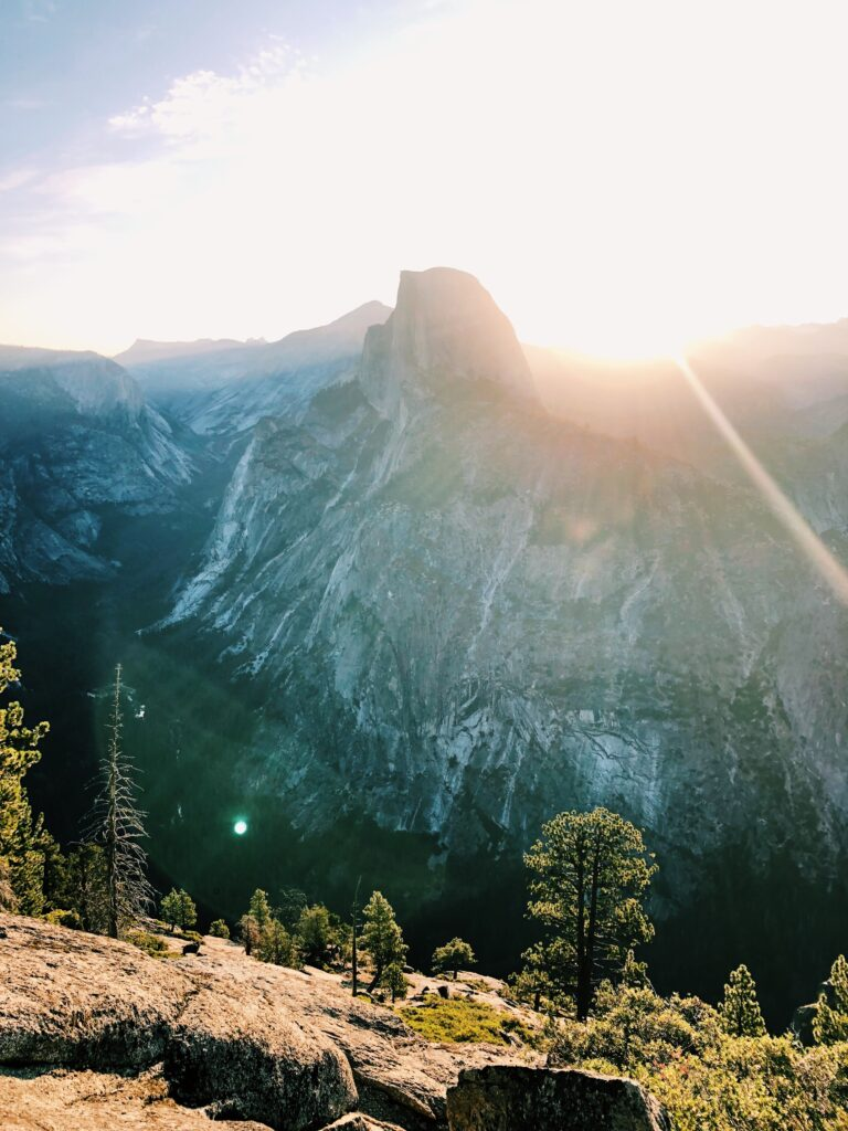 Weekend Getaway to Yosemite National Park at Glacier Point Sunrise