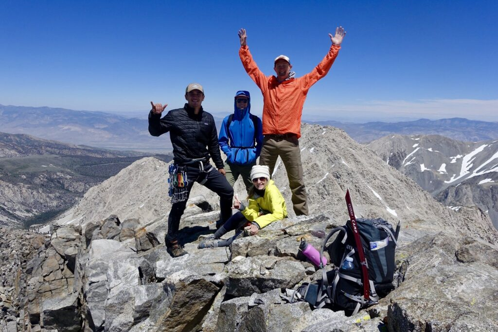 Couple's Backpacking to Big Pine: Peak Bagging Temple Crag