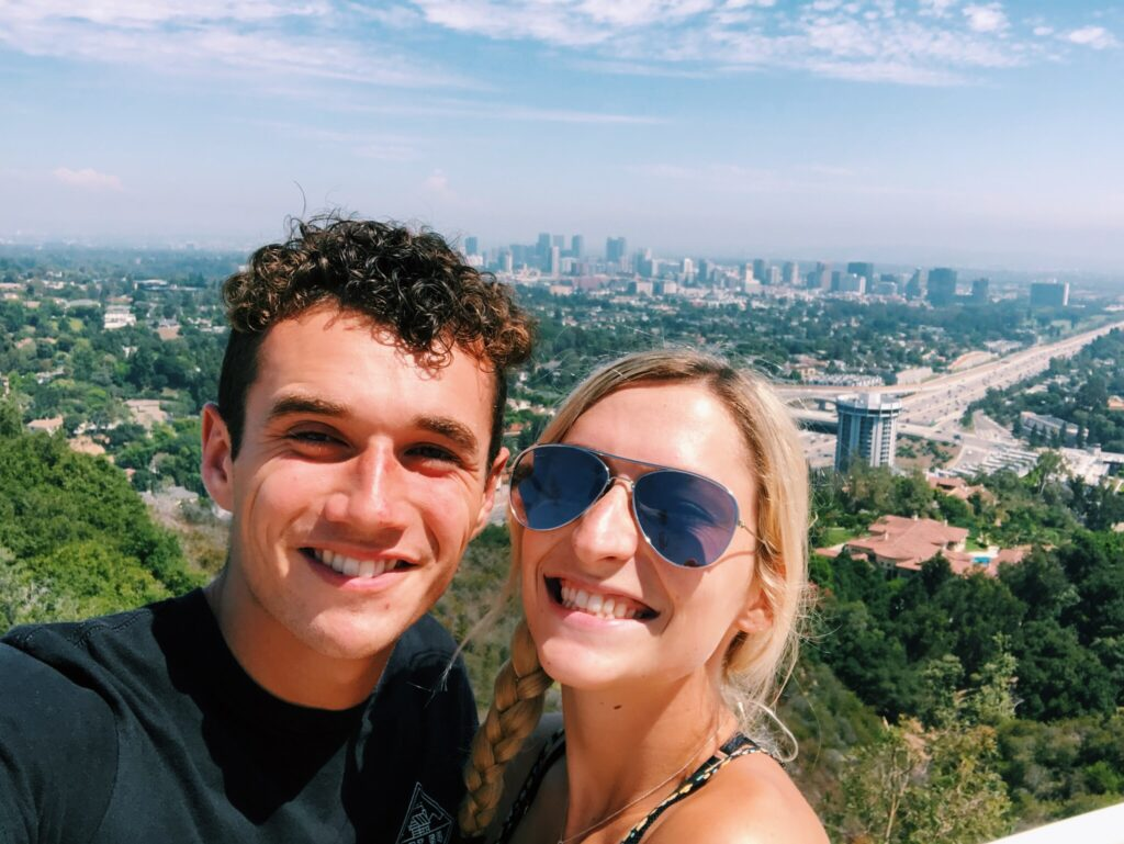 Getty Museum Date in Los Angeles