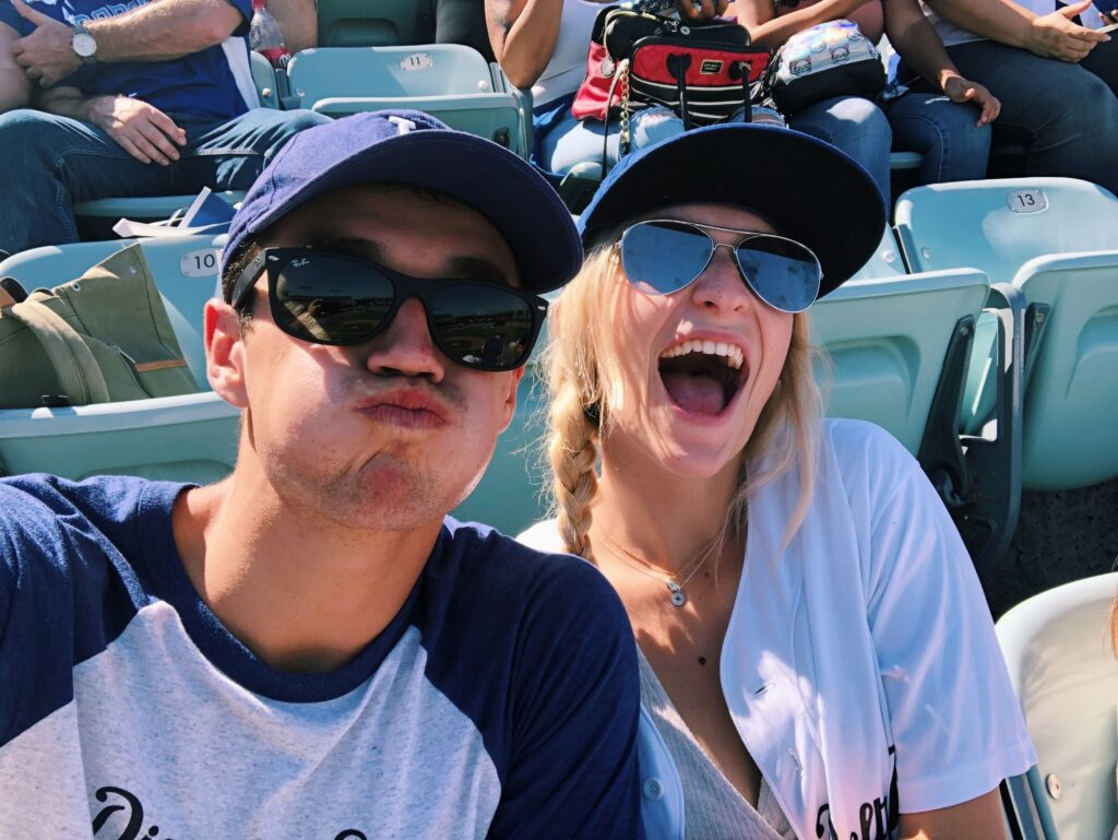 Dodger Game Date in Los Angeles