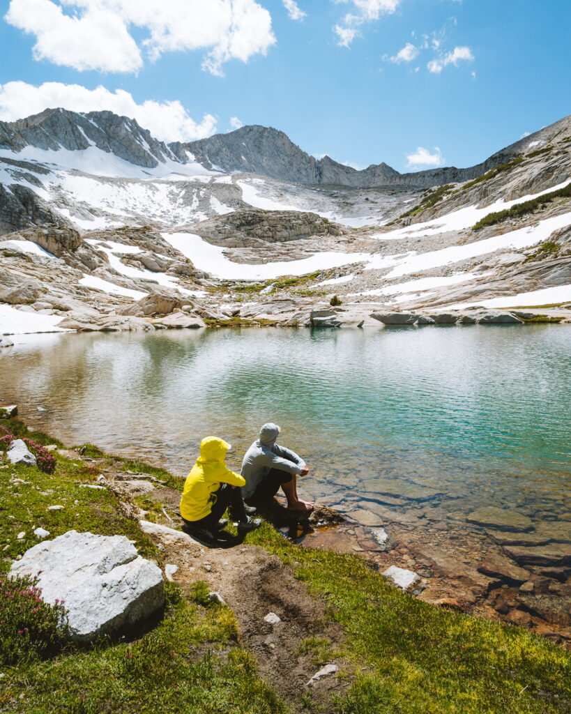 Sierra High Route Couple's Backpacking