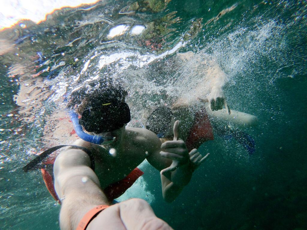 Top Couple's Activities in Puerto Vallarta: Snorkeling off of Majahuitas Beach