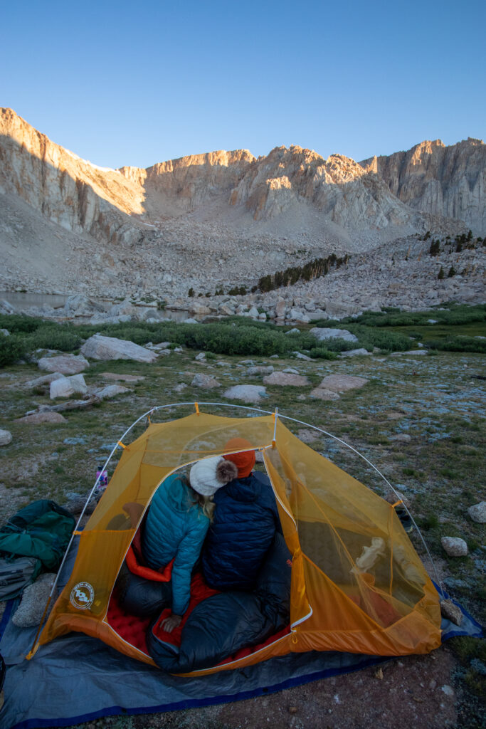 Cottonwood Lakes Backpacking