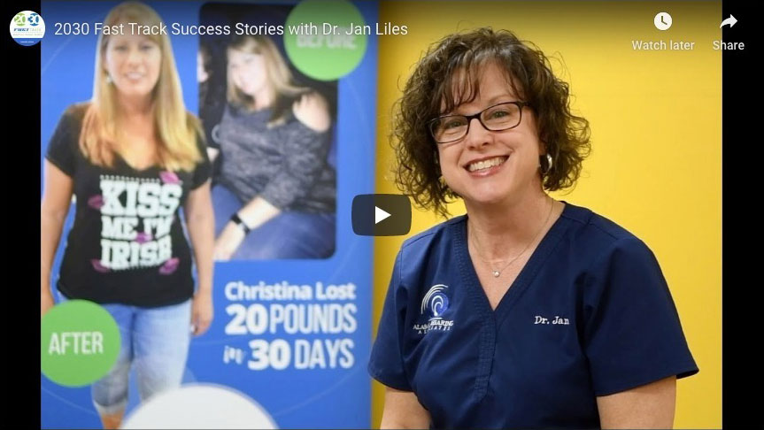 20/30 Fast Track Success Stories with Dr. Jan Liles