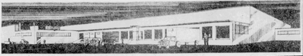 Original sketch of Allegheny Cold Storage