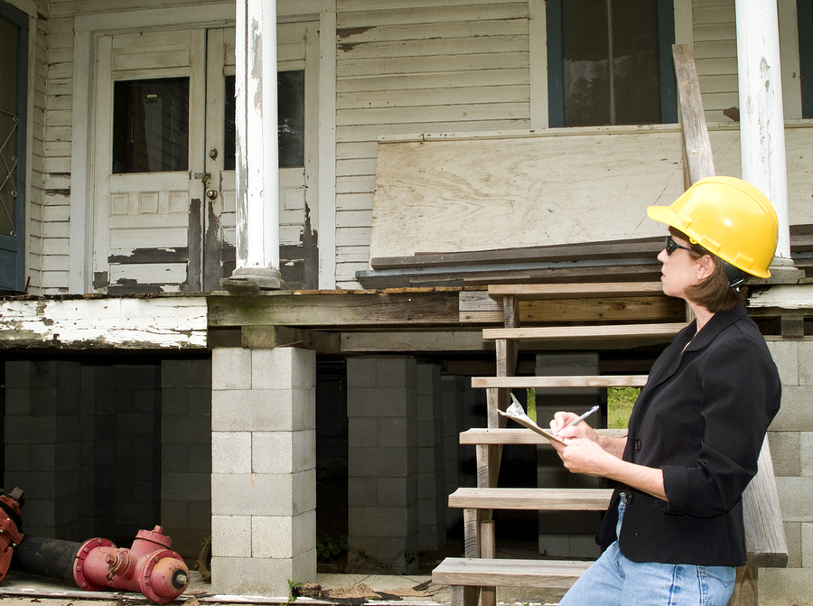 When a home inspection finds issues