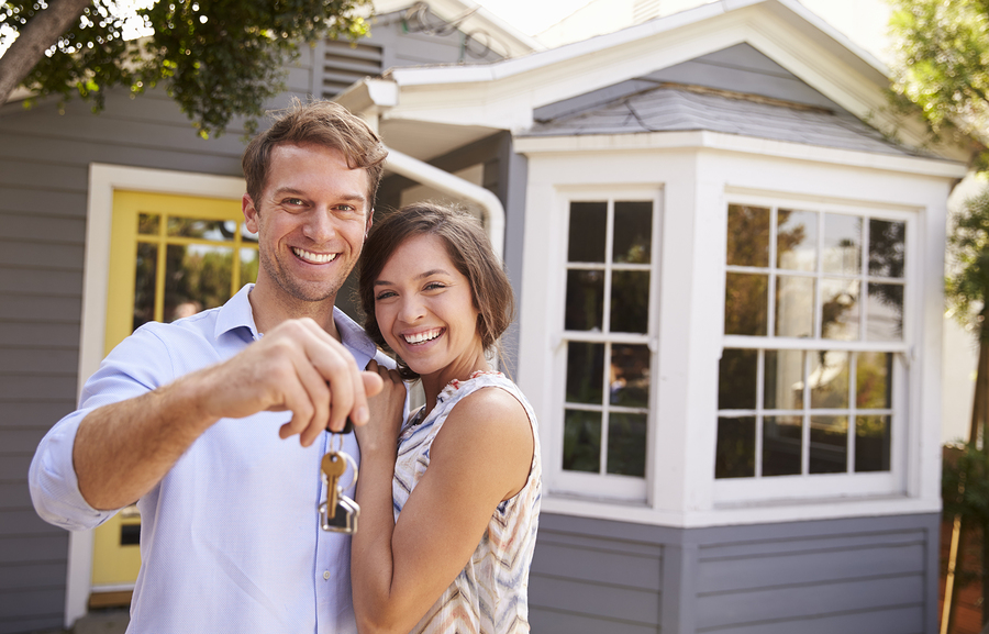 The keys to your new house