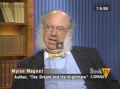 Book TV - Myron Magnet