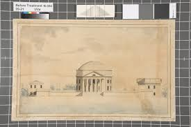 The University of Virginia's Rotunda and Pavilions IX & X, 1823