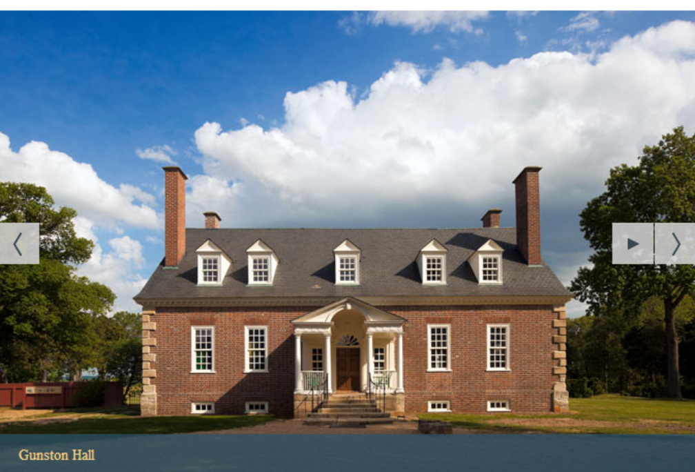 Gunston Hall virtual tour cover