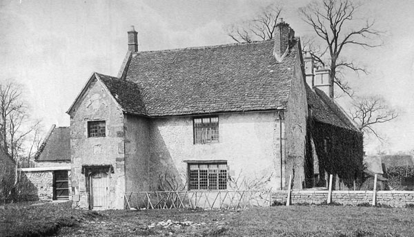 Sulgrave Manor in 1898